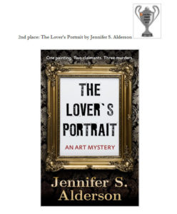 The Lover's Portrait: An Art Mystery wins Rosie Book Review Team's Silver Cup in Mystery Category