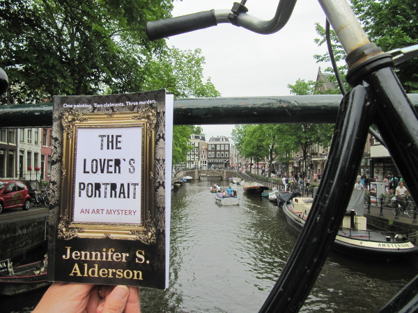 The Lover's Portrait: An Art Mystery in Amsterdam amateur sleuth art theft crime WWII