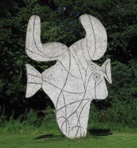 Picasso statue Vondelpark