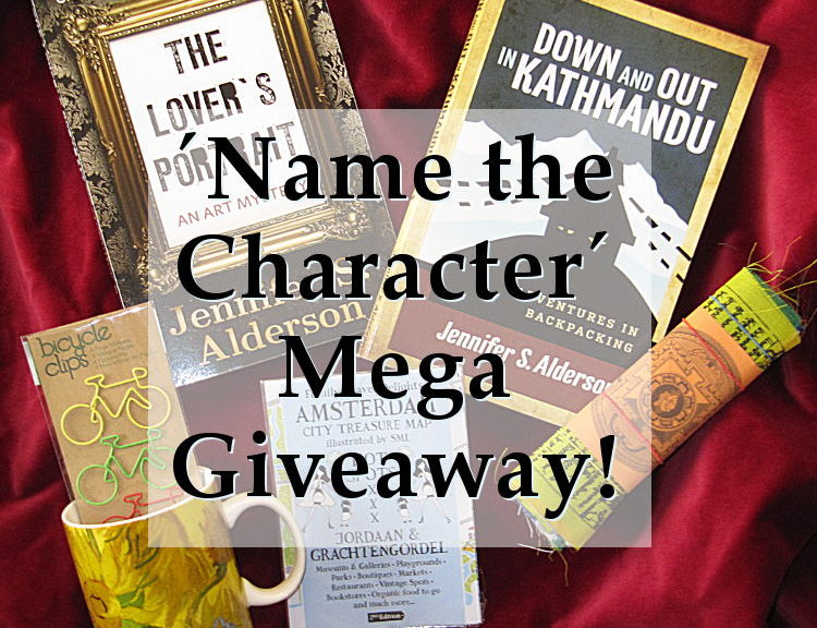 Jennifer S. Alderson blog Mega Giveaway