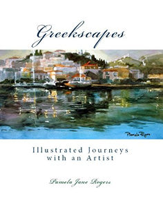 Greekscapes: Illustrated Journeys with an Artist by Pamela Jane Rogers Jennifer S Alderson blog