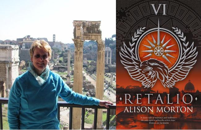 Jennifer S Alderson blog historical fiction author Alison Morton