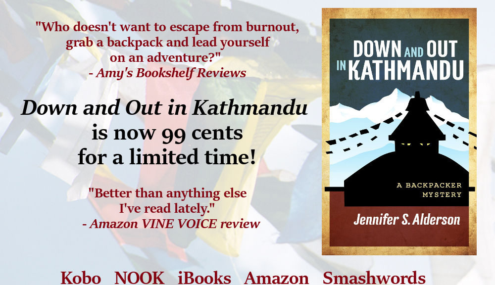 Down and Out in Kathmandu A Backpacker Mystery, amateur sleuth, crime fiction, cultural heritage, thriller, suspense, novel, book, series, mysteries, travel thriller