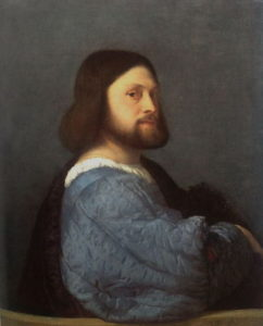 Titian Man with the Blue Sleeve