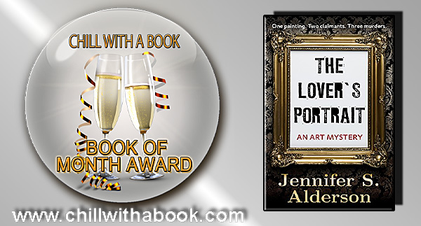Jennifer S. Alderson The Lover's Portrait Book of the Month January 2018 Chill with a Book Award