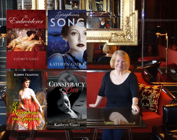 Kathryn Gauci historical fiction author