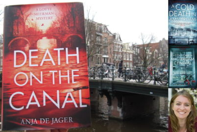 Anja de Jager, Death on the Canal, Amsterdam, Jennifer S Alderson blog