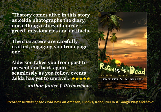 Jennifer S. Alderson Rituals of the Dead An Artifact Mystery, goodreads review, 5 star review