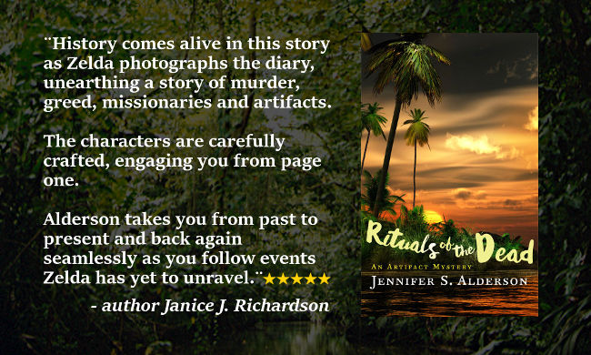 Rituals of the Dead, An Artifact Mystery, Jennifer S Alderson, thriller, Papua, Amsterdam