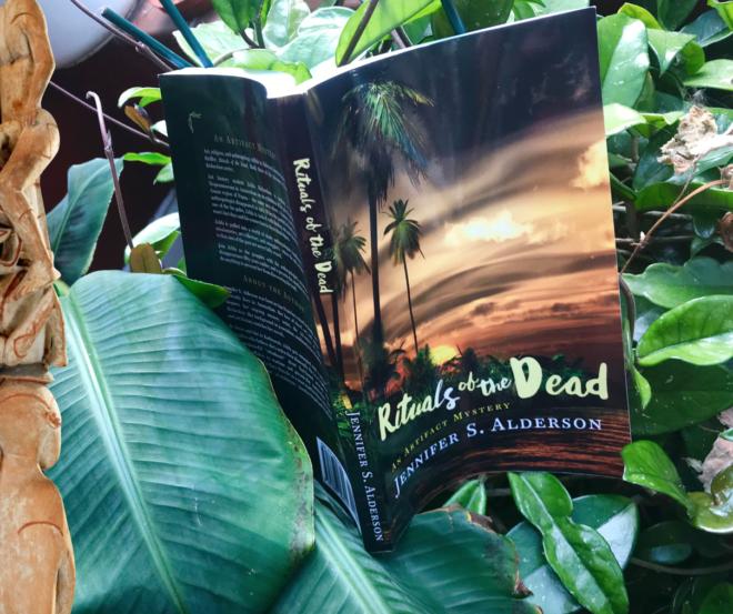 Rituals of the Dead, artifact mystery, Jennifer S Alderson, tripFiction