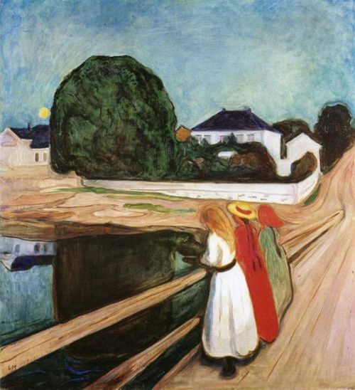 Edvard Munch, Girls on the Bridge