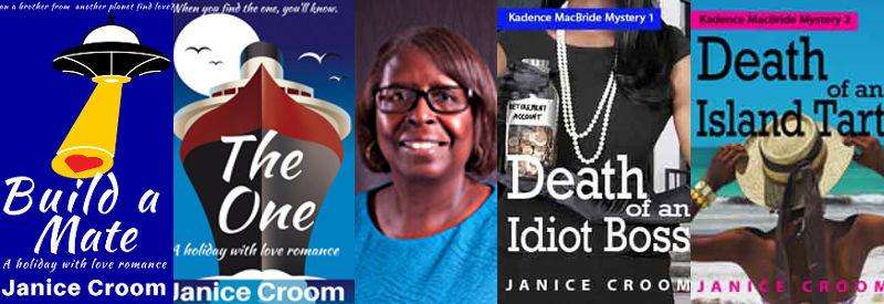 Janice Croom mystery series, Jennifer S Alderson blog