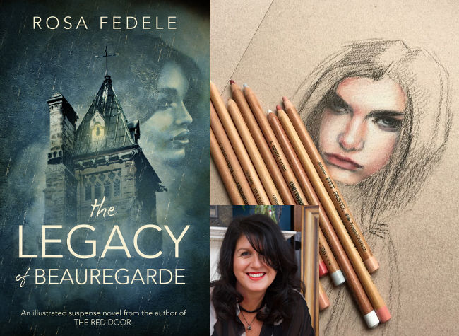 Rosa Fedele The Legacy of Beauregarde Australia Jennifer S Alderson blog