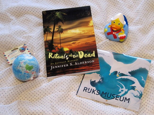 Rituals of the Dead book giveaway on TripFiction