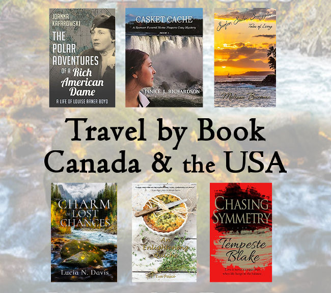 Travel By Book to Canada & the USA