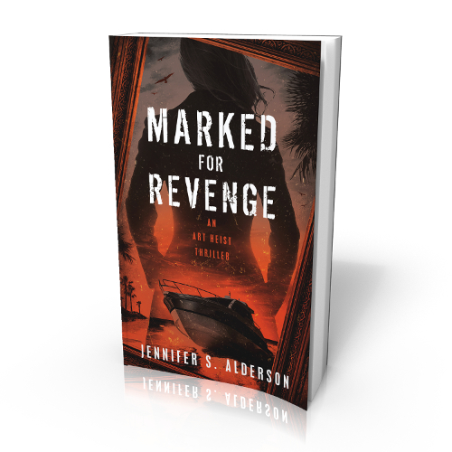 Marked for Revenge An Art Heist Thriller Jennifer S Alderson author mystery Turkey Croatia Netherlands museums art crime theft