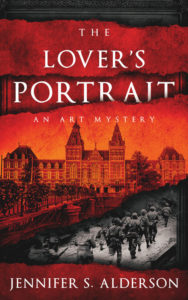 The Lover's Portrait An Art Mystery Jennifer S Alderson art crime, art history, mystery, thriller, Amsterdam, amateur sleuth