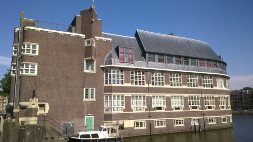 Het Sieraad building in Amsterdam