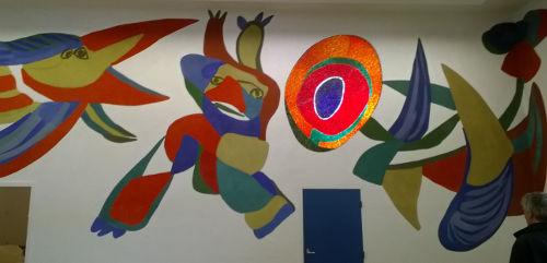 Karel Appel, Stedelijk Museum, Amsterdam.