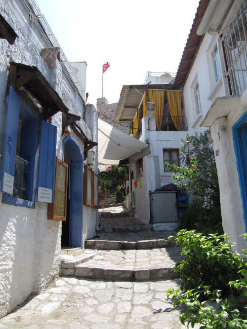 Street in Marmaris, Turkey.