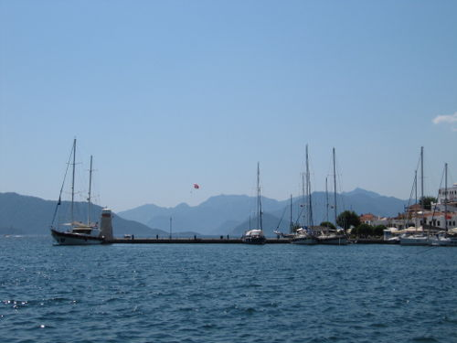 Marmaris is is a popular stop for European and Turkish owners of yachts.