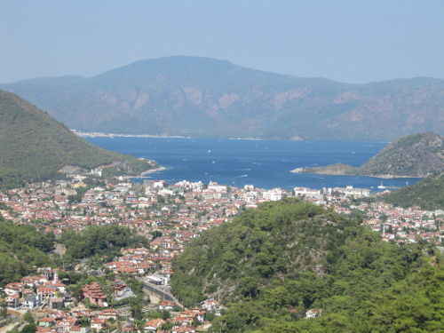 Marmaris, Turkey. It's an Important setting in Marked for Revenge.