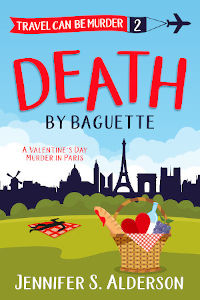 Death by Baguette cozy mystery