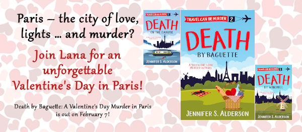 Death by Baguette A Valentines Day Murder in Paris cozy mystery