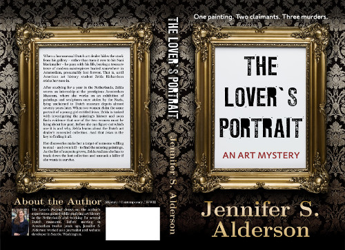 Jennifer S. Alderson The Lover's Portrait An Art Mystery, art theft, Nazi theft, Amateur Sleuth, Historical Fiction, art crime, looted art, international mystery and crime, art history mystery, cultural heritage, thriller, novel, book