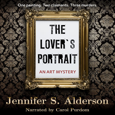 audiobook audio book audible iBooks iTunes The Lover's Portrait An Art Mystery Amsterdam art theft art crime amateur sleuth international mystery and suspense thriller cozy mystery
