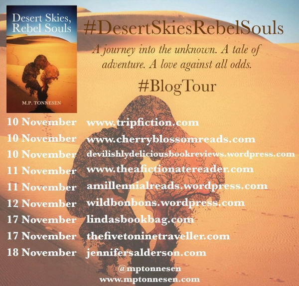 Desert Skies, Rebel Souls MP Tonnesen blog tour