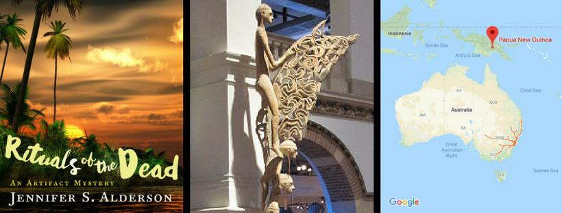 Jennifer S. Alderson Lucia N. Davis blog Asmat Bis Poles artifact mystery