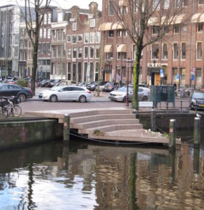 Homomonument on the Keisersgracht in Amsterdam. Jennifer S. Alderson author.