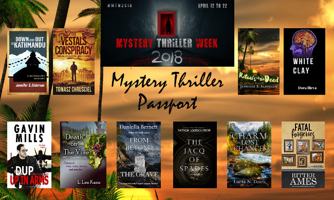 Mystery Thriller Passport Jennifer S. Alderson blog