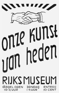 Onze Kunst van Heden, Rijksmuseum exhibition in 1939
