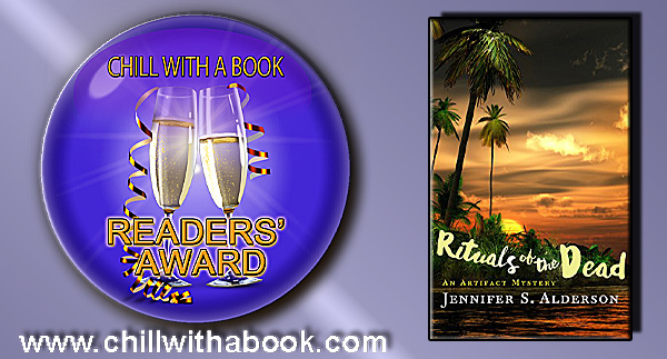 Chill with a Book Readers'Award, Rituals of the Dead by Jennifer S. Alderson
