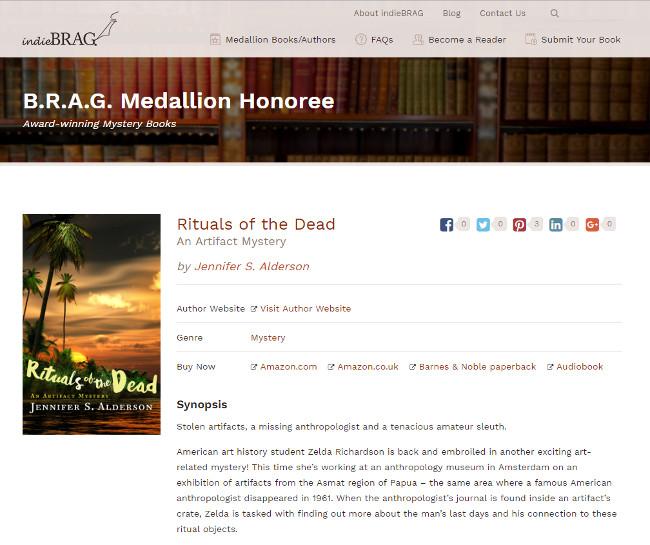 Jennifer S Alderson Rituals of the Dead An Artifact Mystery