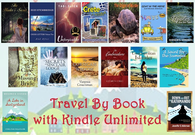 Travel by Book with Kindle Unlimited