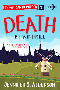Death by Windmill cozy mystery